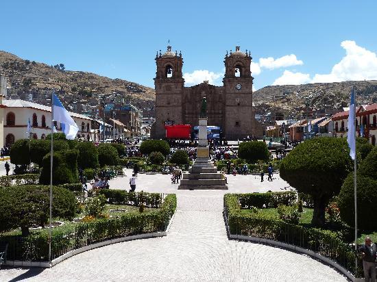 Hotel Kuntur Inn: Plaza de Armas Puno