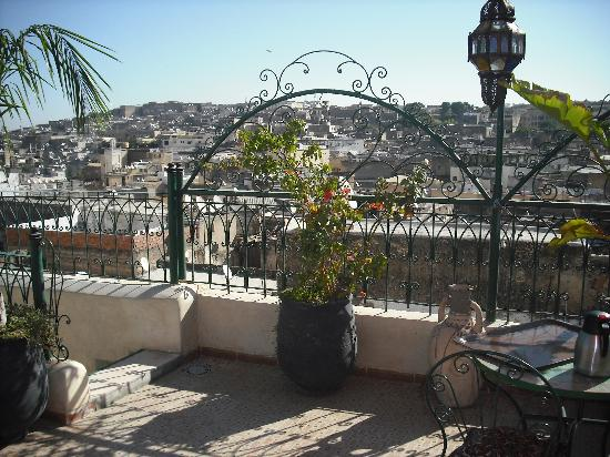 Riad Dar Guennoun: From the roof terrace