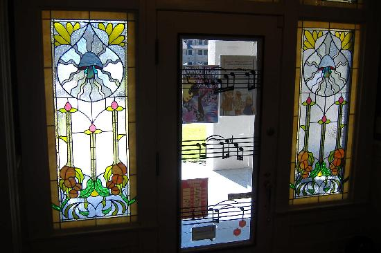 The Allman Brothers Band Museum at the Big House: Front door from inside