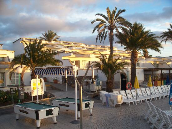 The Appartments Which Look Out To Sea Picture Of Bungalows Vista Oasis Apartments Maspalomas