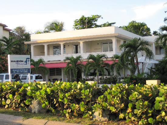 Malecon House: Front Hotel View