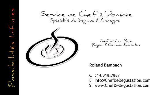 Chef de Degustation : Info