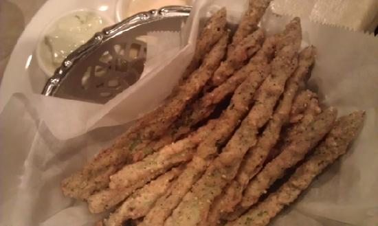 Puleo's Grille: Fried Asparagus