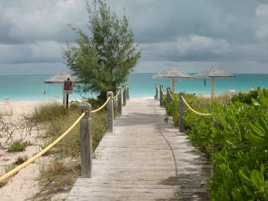 Entrance to Grace Bay Beach