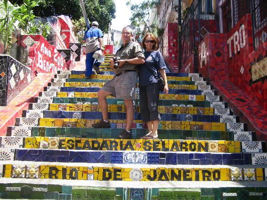 Maria Santa Teresa: Escadaria Selaron