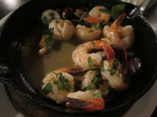 Helena : Shrimp and Scallop with Ozusa Sause - their best dish