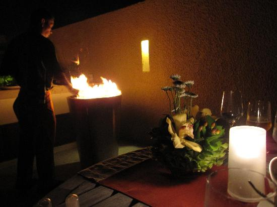 Banyan Tree Mayakoba: In-villa BBQ