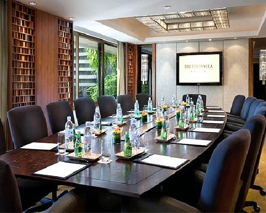The Peninsula Manila: Meeting Room