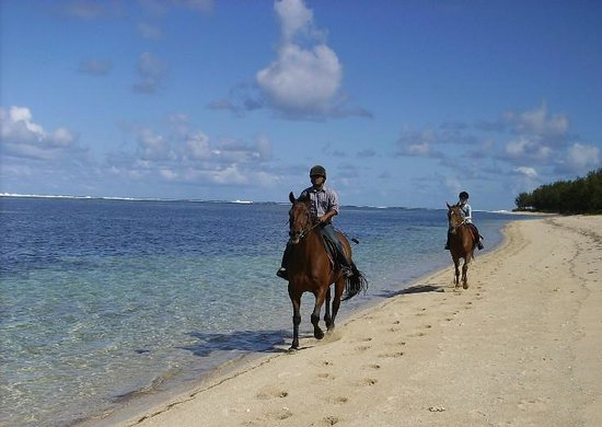 Riambel: Riding on a desert beach...make your dream comes true