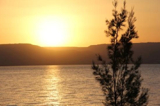 Migdal, Israel: Sunrise over the lake is one of God's great gifts