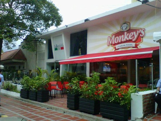 Monkey's casual food: Best casual food in town