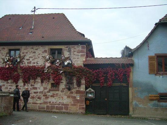 Domaine des Hirondelles : La bâtisse
