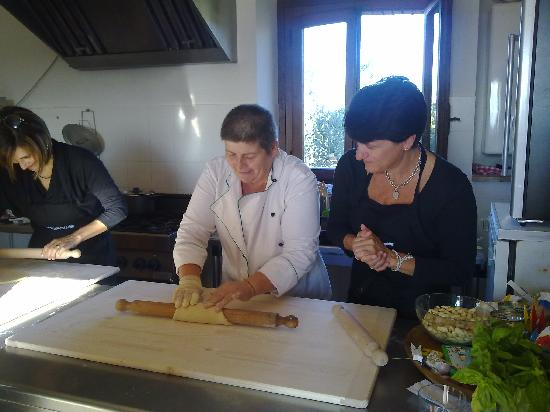 Decugnano Dei Barbi Cooking Class: October 2011