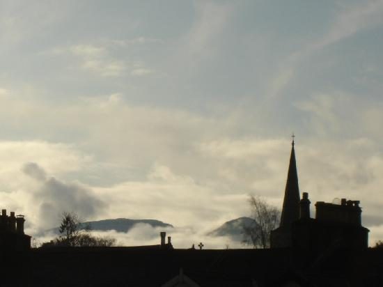Hedgehog Hill: View of Catbells from Twin Bedroom