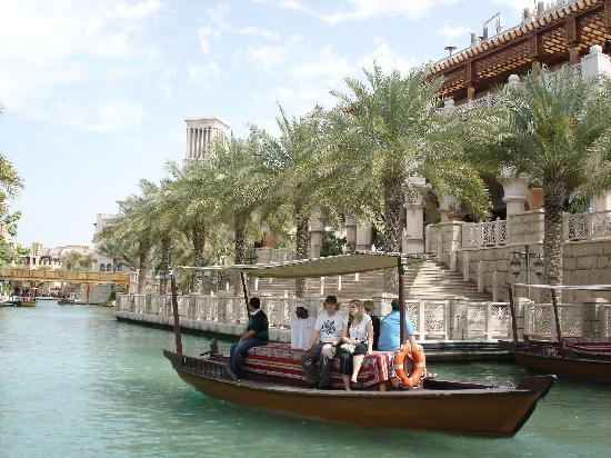 Jumeirah Al Qasr at Madinat Jumeirah: sea side canals