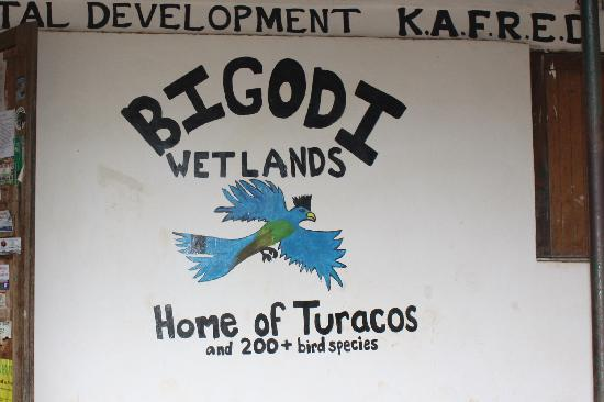 Bigodi Wetlands Sanctuary: visitor center