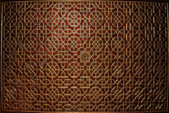 Patwaon-Ki-Haveli: Ceiling of the Drawing Room