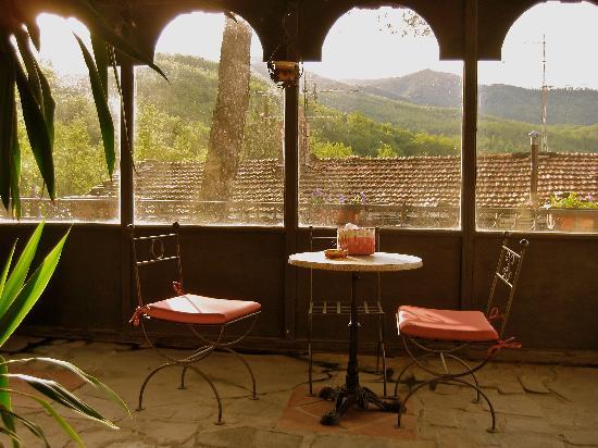 Alla Battuta: veranda