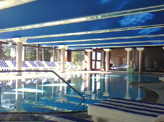 Hotel Die Post: Scorcio piscina interna