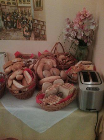 Residence Select Prague: Breakfast