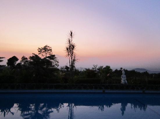 Villa Sumbing Indah: Levé de soleil