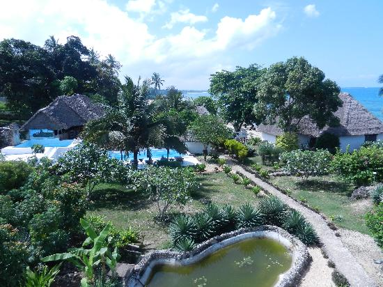 Chuini Zanzibar Beach Lodge : Blick über die Lodge