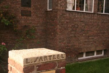 Letterbox of the Sarteel House