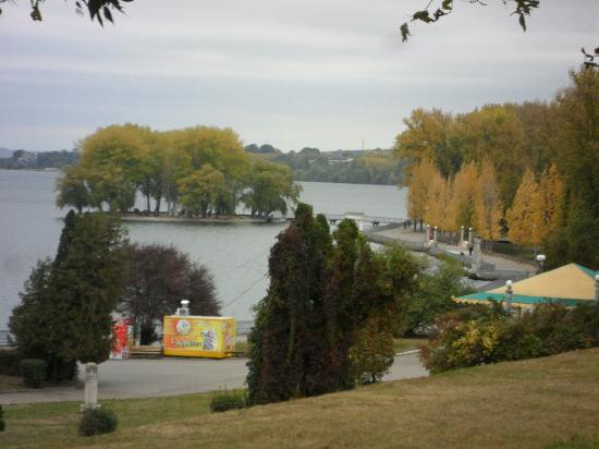 Hotel Ternopil : Lake view