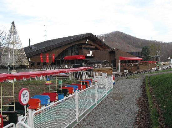 Sapporo Bankei Ski Area: 片隅にこんな遊具もありました