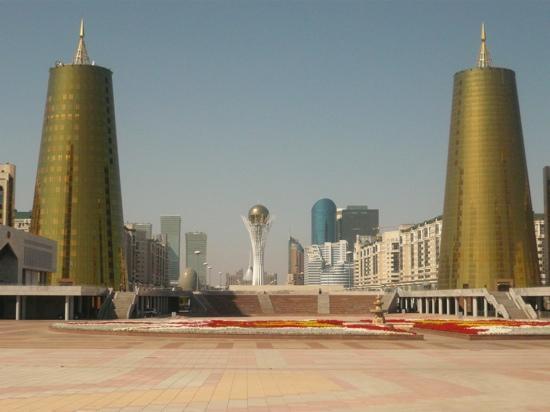 Astana, Kazachstan: лето Астана