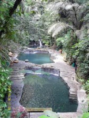 Hidden Valley Springs Resort : The Warm Pool Area...3ft to 5ft deep