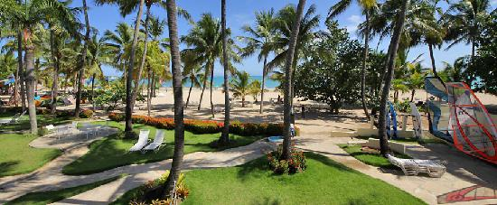 Cabarete Palm Beach Condos: View from a balcony