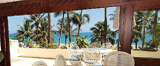 Cabarete Palm Beach Condos: View from living room
