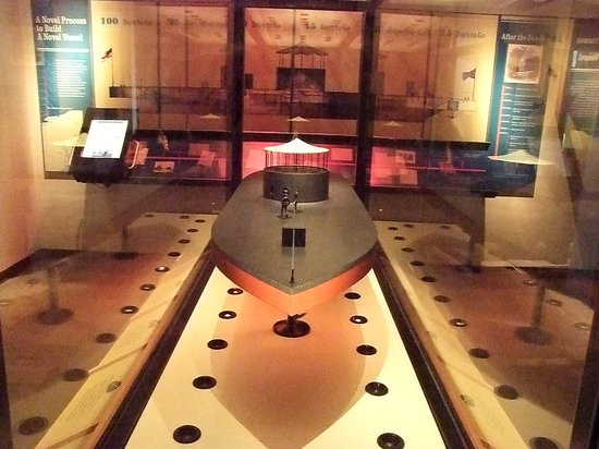 USS Monitor Center