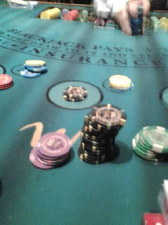 WinStar World Casino Hotel: Win the purple chips if you can...lol