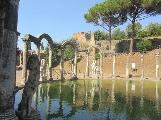 Tivoli, อิตาลี: hadrian's villa