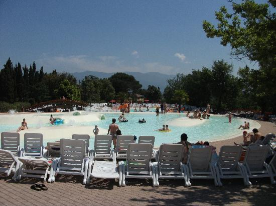 Figline Valdarno, Italia: one of the two swimming pools
