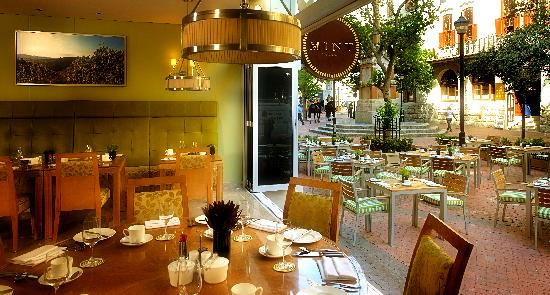Taj Cape Town: Mint Restaurant