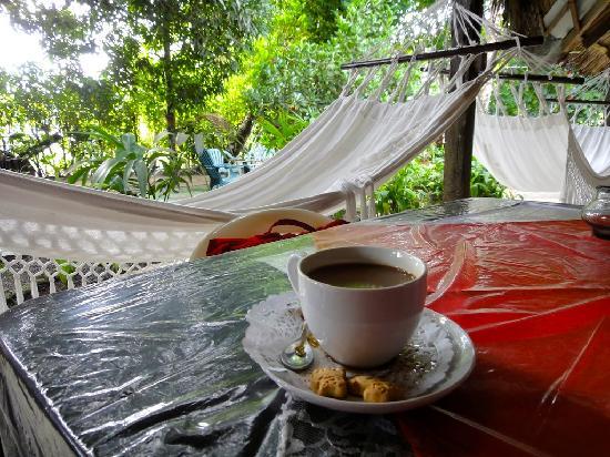 El Nido del Postre : delicious coffee in the morning