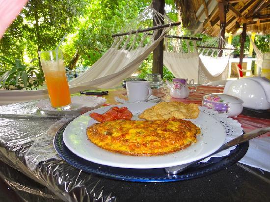 El Nido del Postre : vegetable omelette