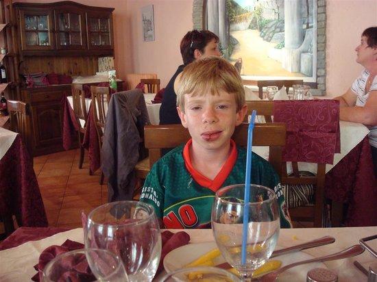 Susa, Italie : salle à manger