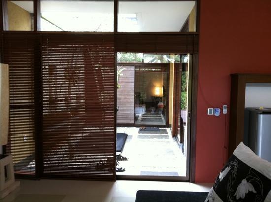 Ubud Green: vista dal salotto