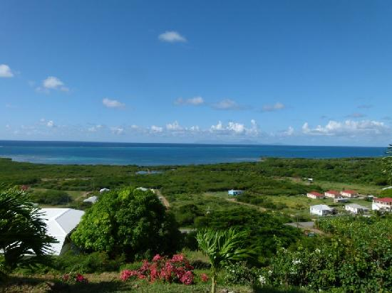 South Coast Ocean View Apartments: Blick von der Terrasse