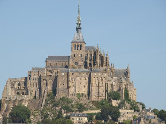 Les Cresnays, Francia: Mont St Michel