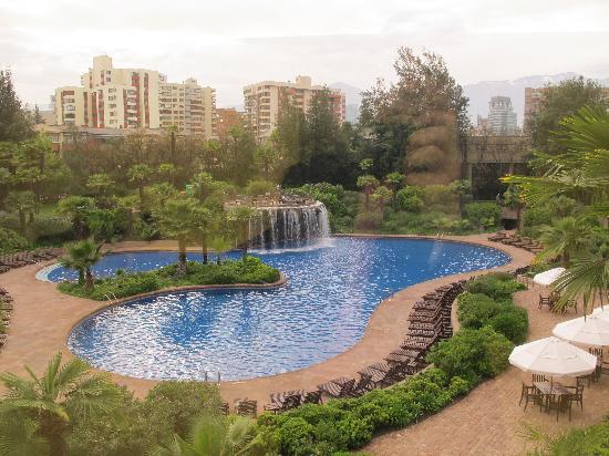 La piscina fotograf a de hotel santiago santiago for Piscina hotel w santiago