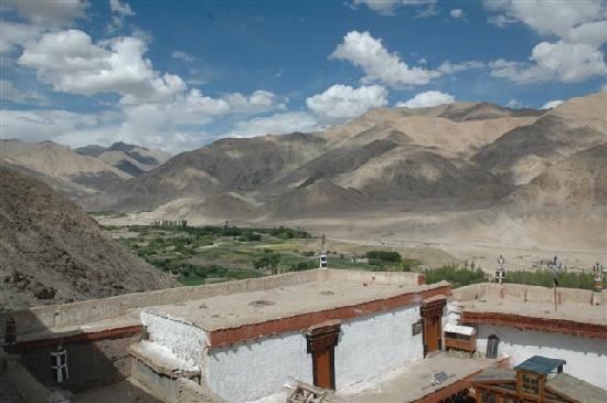 Kloster Chemrey : ...Blick vom Dach....