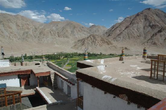 Kloster Chemrey : ...Blick vom Dach...