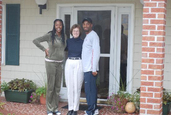 Stoney Meadow Inn B&B: My girlfriend, Janet & I