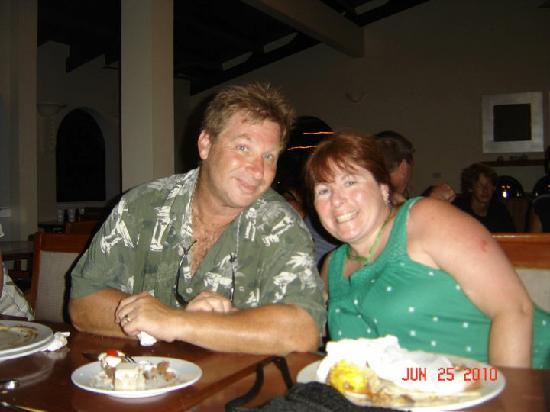 Bratta's Seafood Steaks & Pasta: Gary & Susan