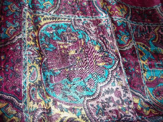 Krishna Textiles : silk scarf# 1